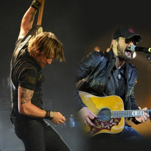See Keith Urban and Eric Church's Nostalgic 'Raise 'Em Up' Video