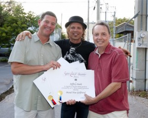Jeffrey Steele Receives Air Play Awards