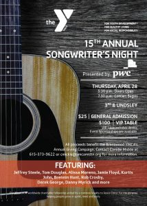 YMCA Songwriters Night