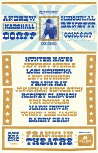 Andrew Dorff Memorial Benefit Concert
